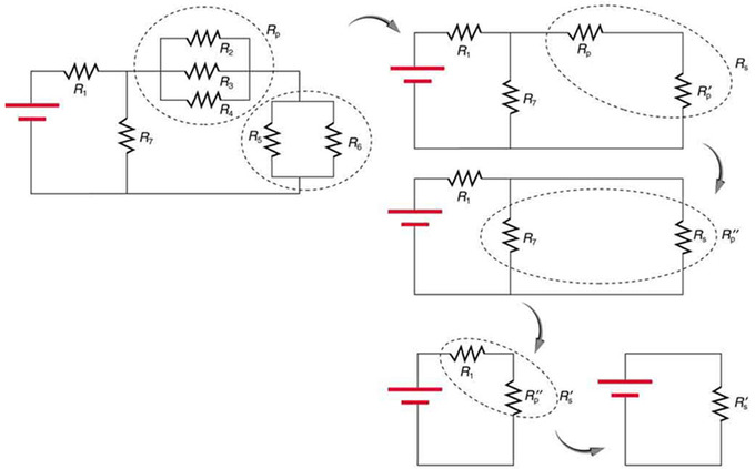 Free Worksheets parallel circuit worksheet : Resistors in Series and Parallel : Boundless Physics