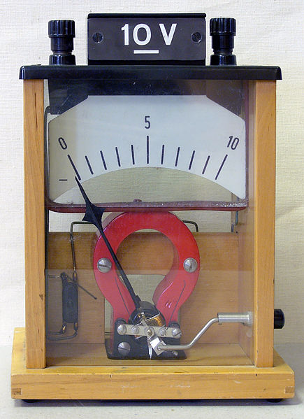 Voltmeter At A Point : Voltmeters and ammeters boundless physics