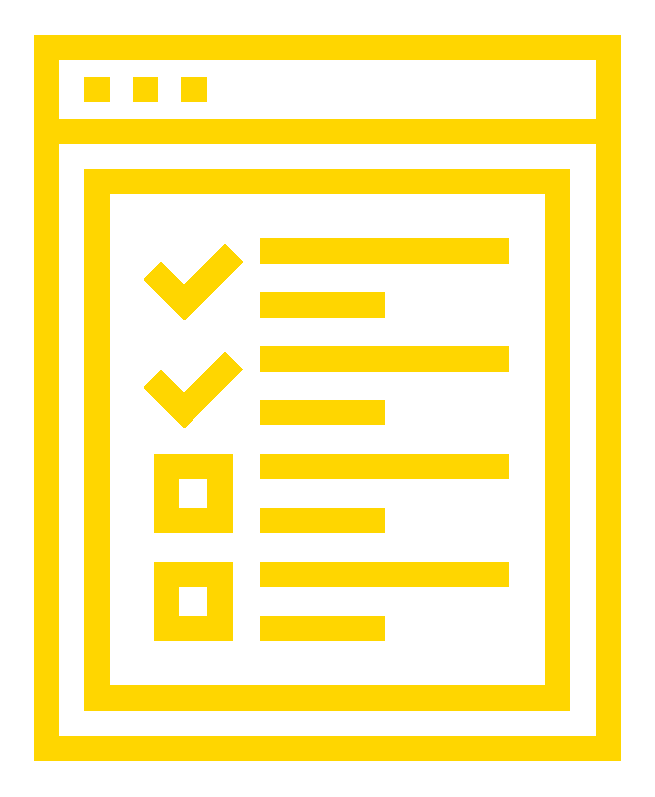 icon of a questionnaire sheet