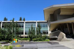 Microsoft Corporation headquarters in Redmond, Washington