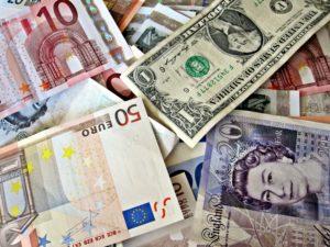 Money from around the world.