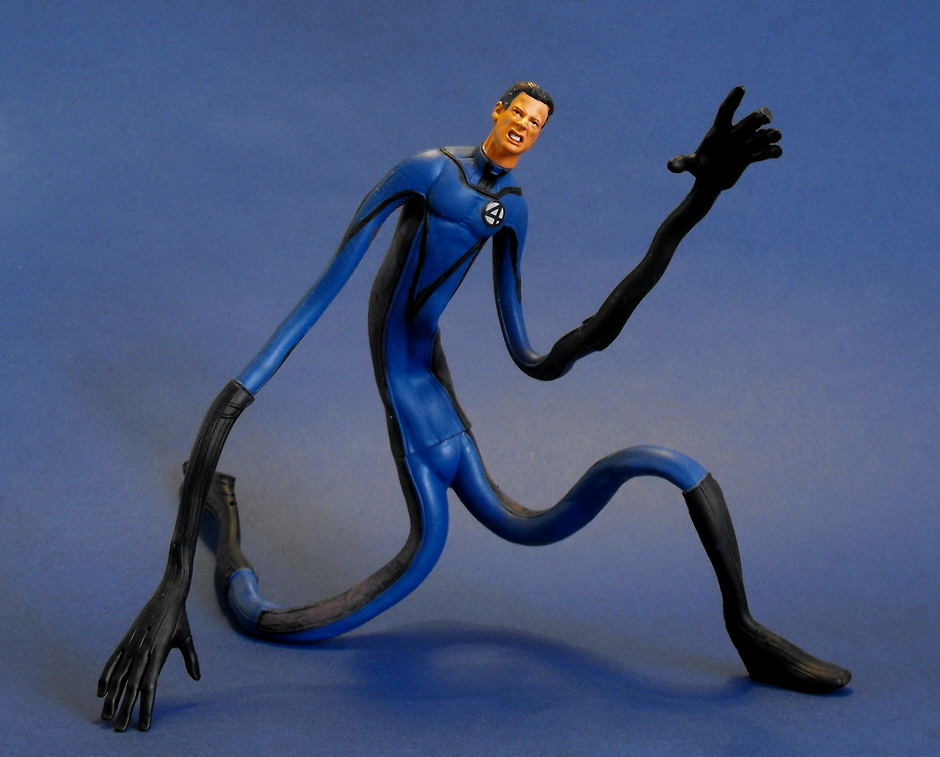 Photo of Mr. Fantastic action figure.
