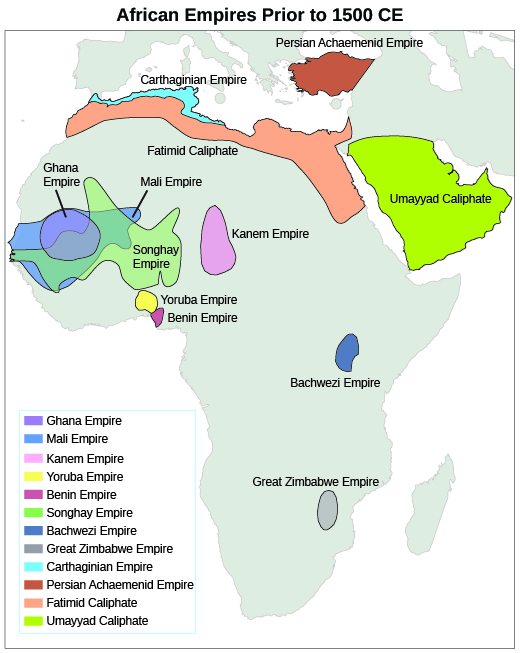 West Africa and the Role of Slavery | U.S. History on kingdom of ethiopia map, ancient ghana map, medieval ghana map, empire of ghana west africa map, classical empires in africa map,