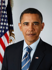 """Image of President Barack Obama, who in 2014, called on Congress to raise the minimum wage in the United States. [""""Obama""""byPete Souza,Change.gov is licensed underCC BY 4.0]"""