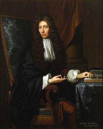 The Shannon Portrait of the Hon. Robert Boyle F. R. S. (1627-1691)