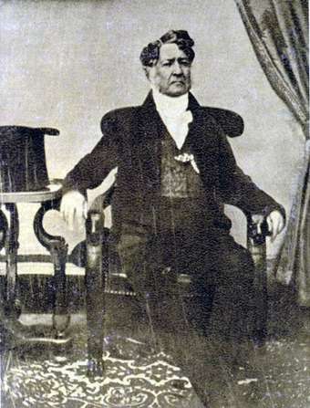 Image of Louis-Philippe I, seated in a chair.