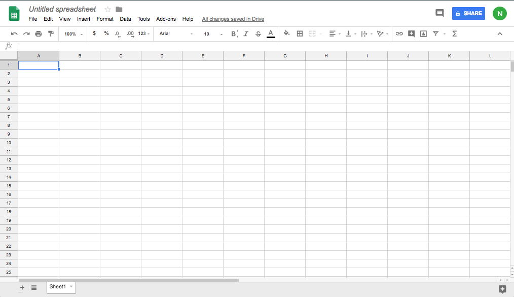 Working in Google Sheets | Business Communication Skills for Managers
