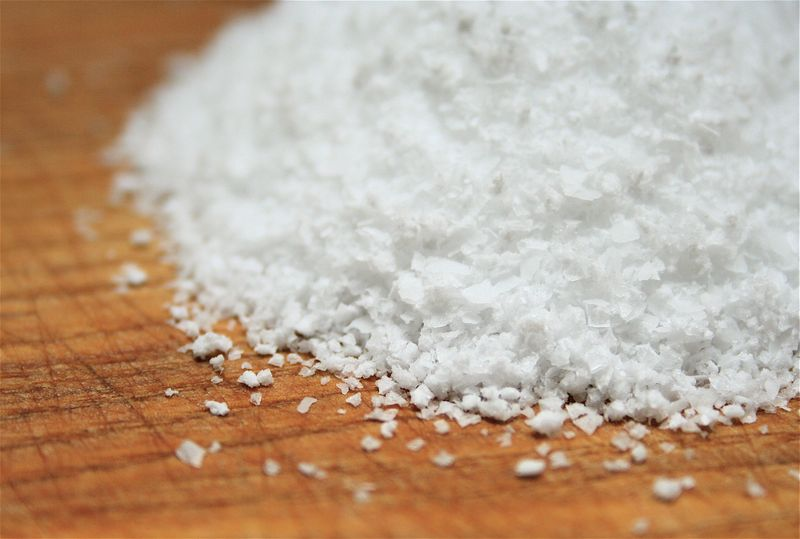 """The ionic compound NaCl is very common. Source: """"Kosher Salt"""" by stlbites.com is licensed under the Creative Commons Attribution-NoDerivs 2.0 Generic."""