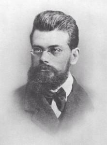 Figure #.#. Portrait of Boltzmann at age 31.