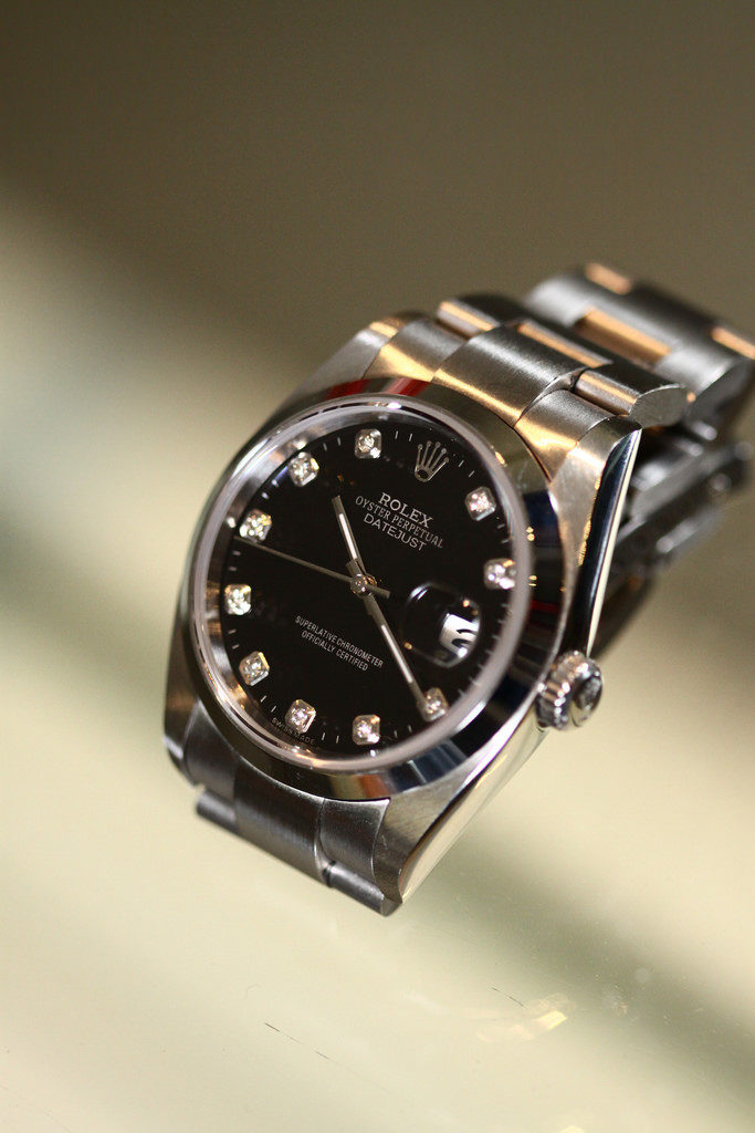 Photo of Rolex wristwatch