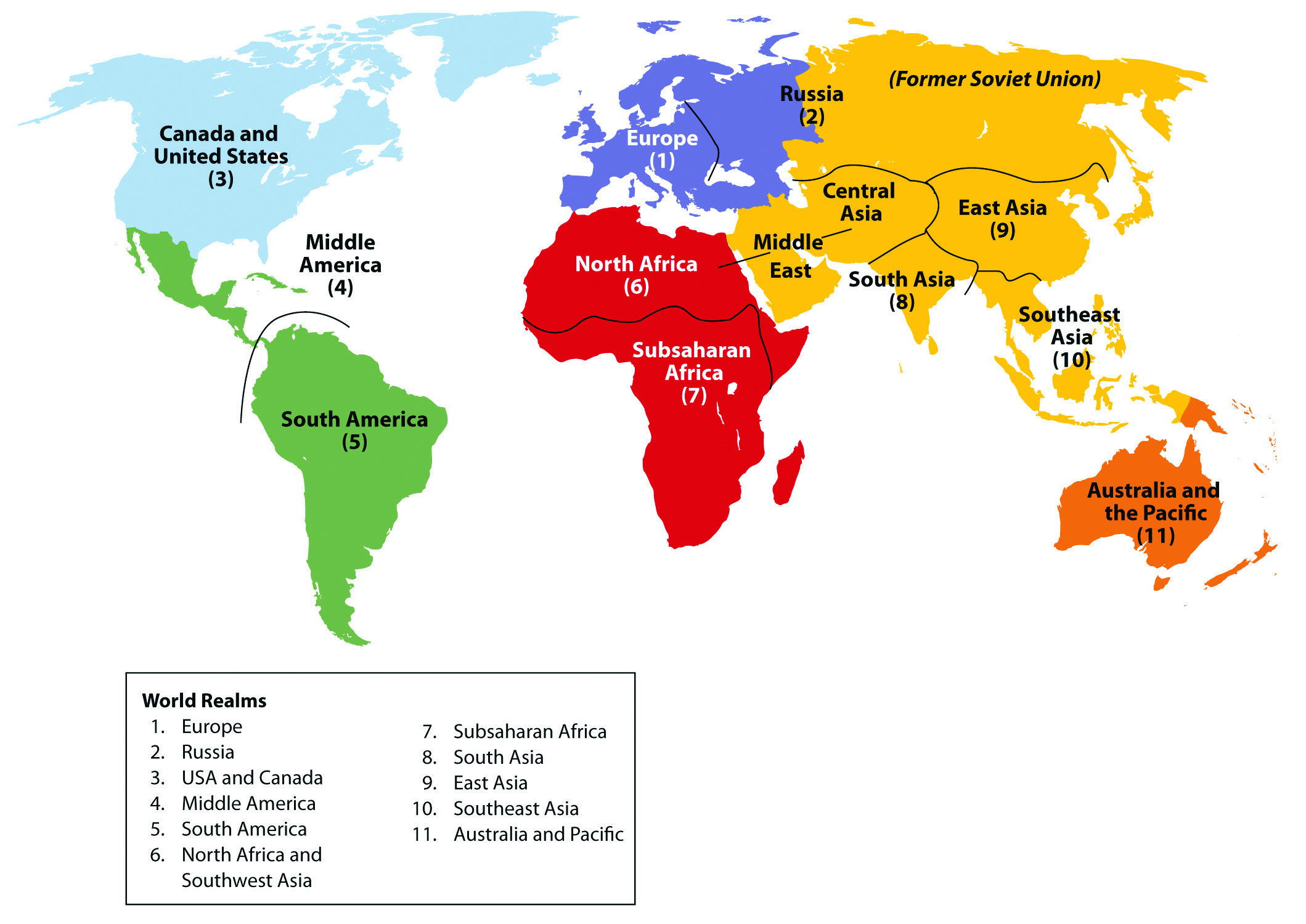 1.1 Geography Basics | World Regional Geography: People ... on map legend, map projection, map scale,