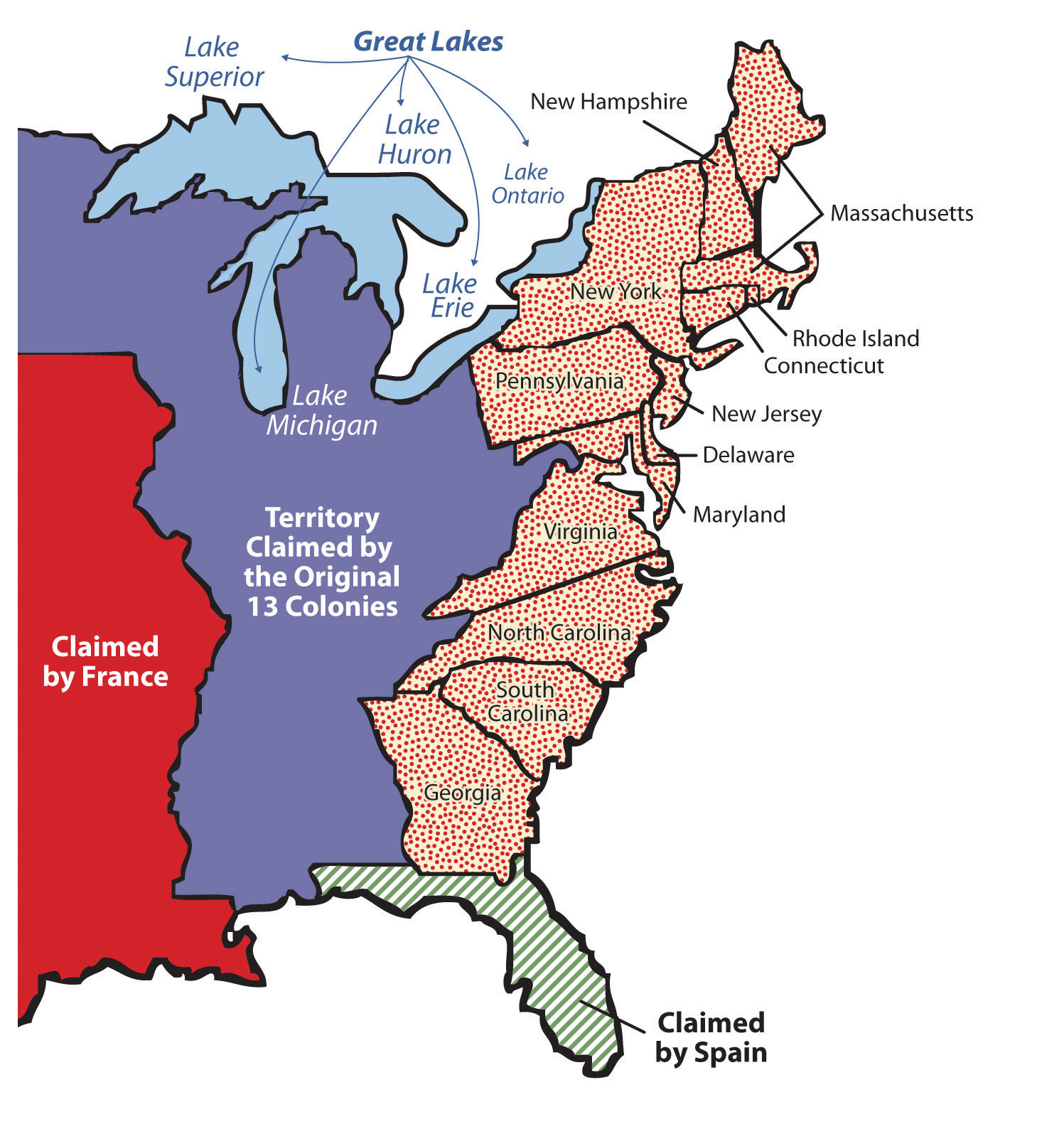 Map Of Spain And Us.4 2 United States Early Development And Globalization World