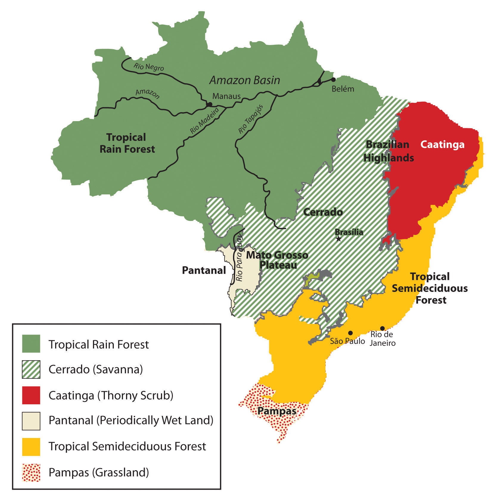 Image of: 6 3 Brazil World Regional Geography People Places And Globalization