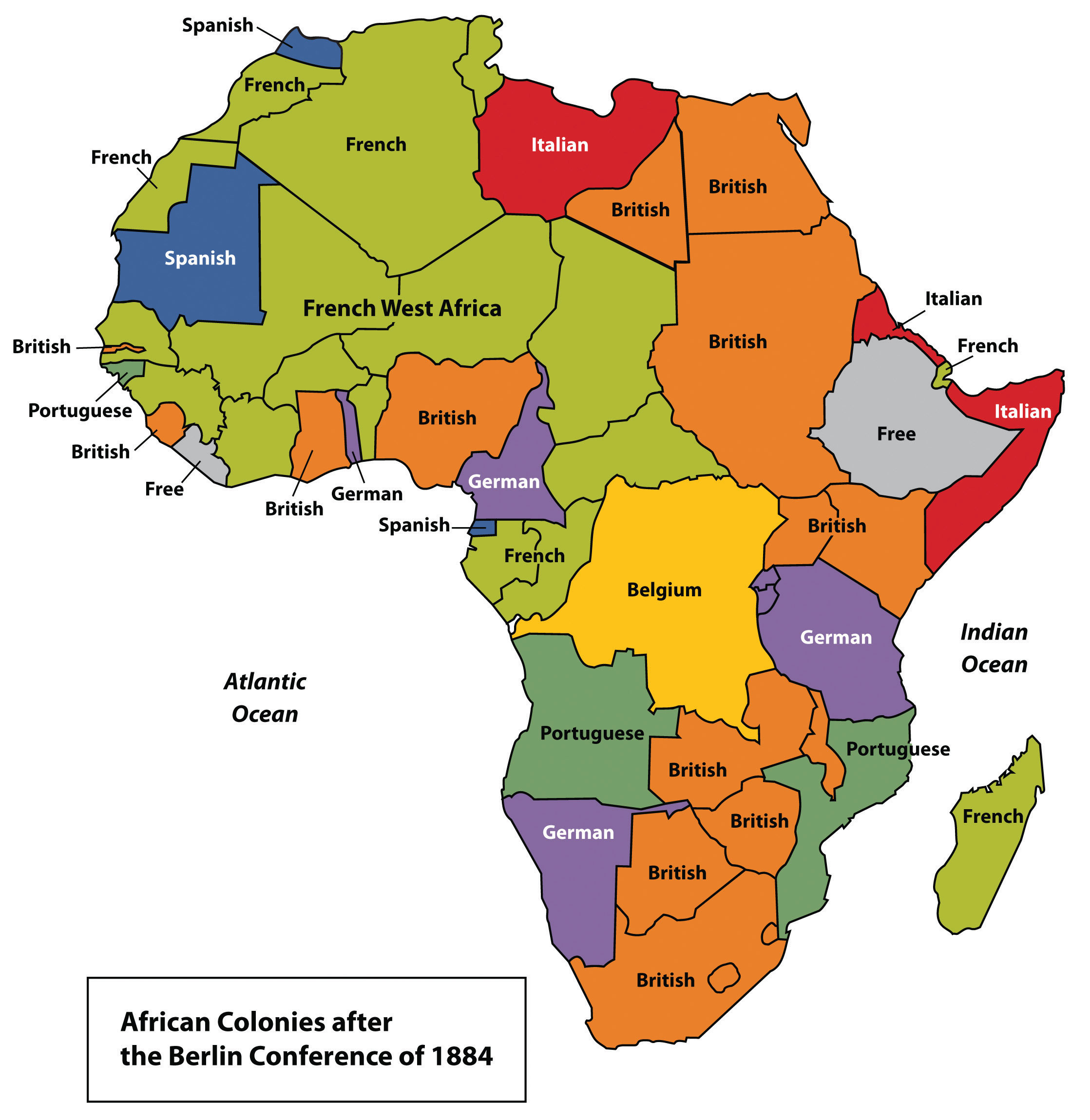map of africa during colonization 7 1 Introducing The Realm World Regional Geography People map of africa during colonization