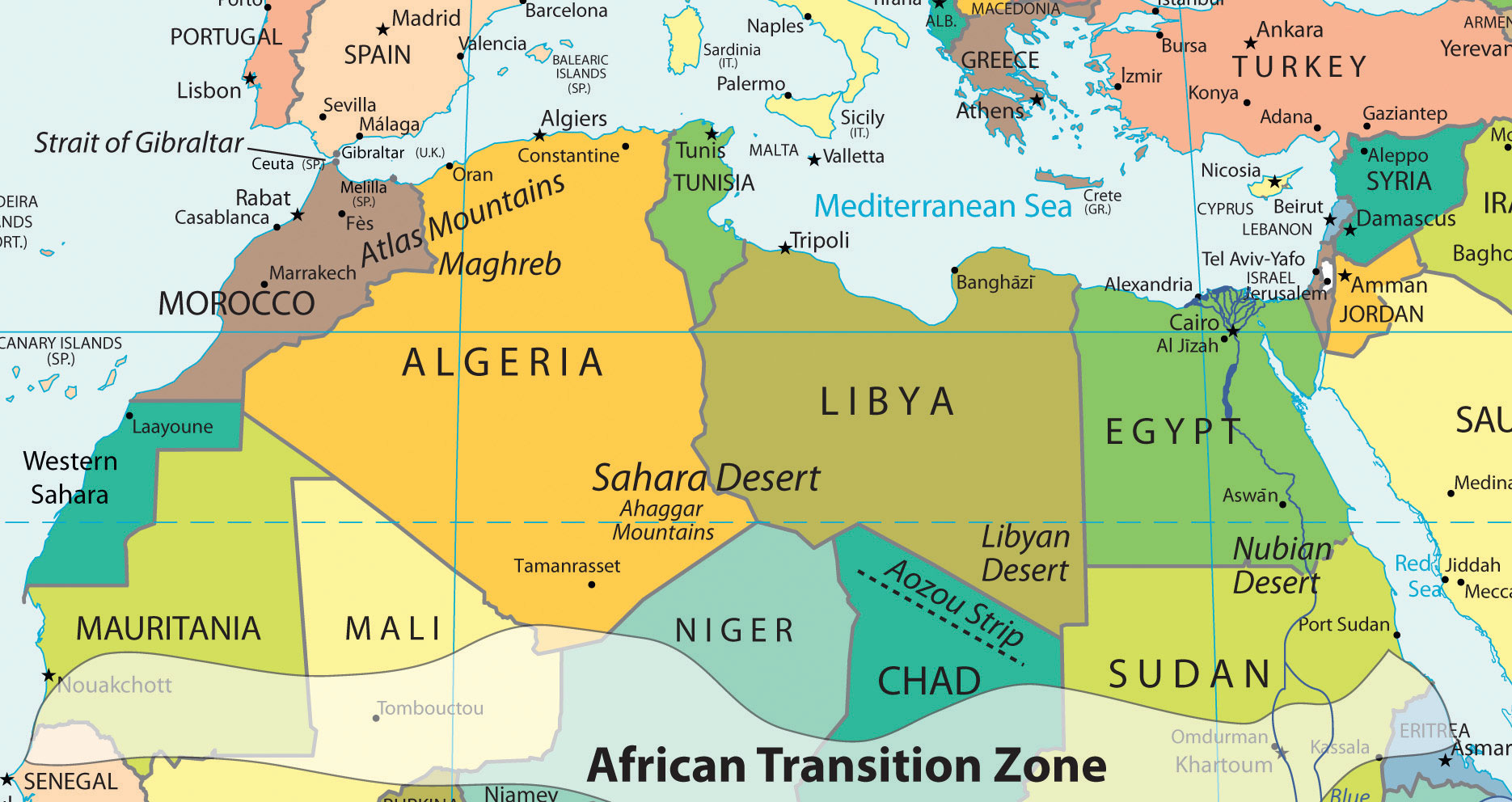 8.3 North Africa and the African Transition Zone | World Regional