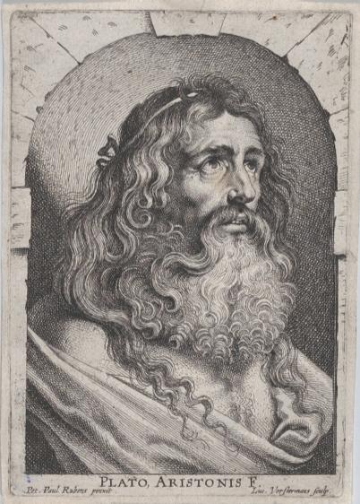 Drawing of Plato