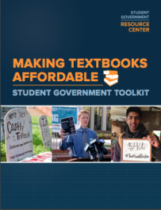Making Textbooks Affordable Cover Page