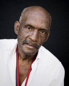 Headshot of elderly black man.
