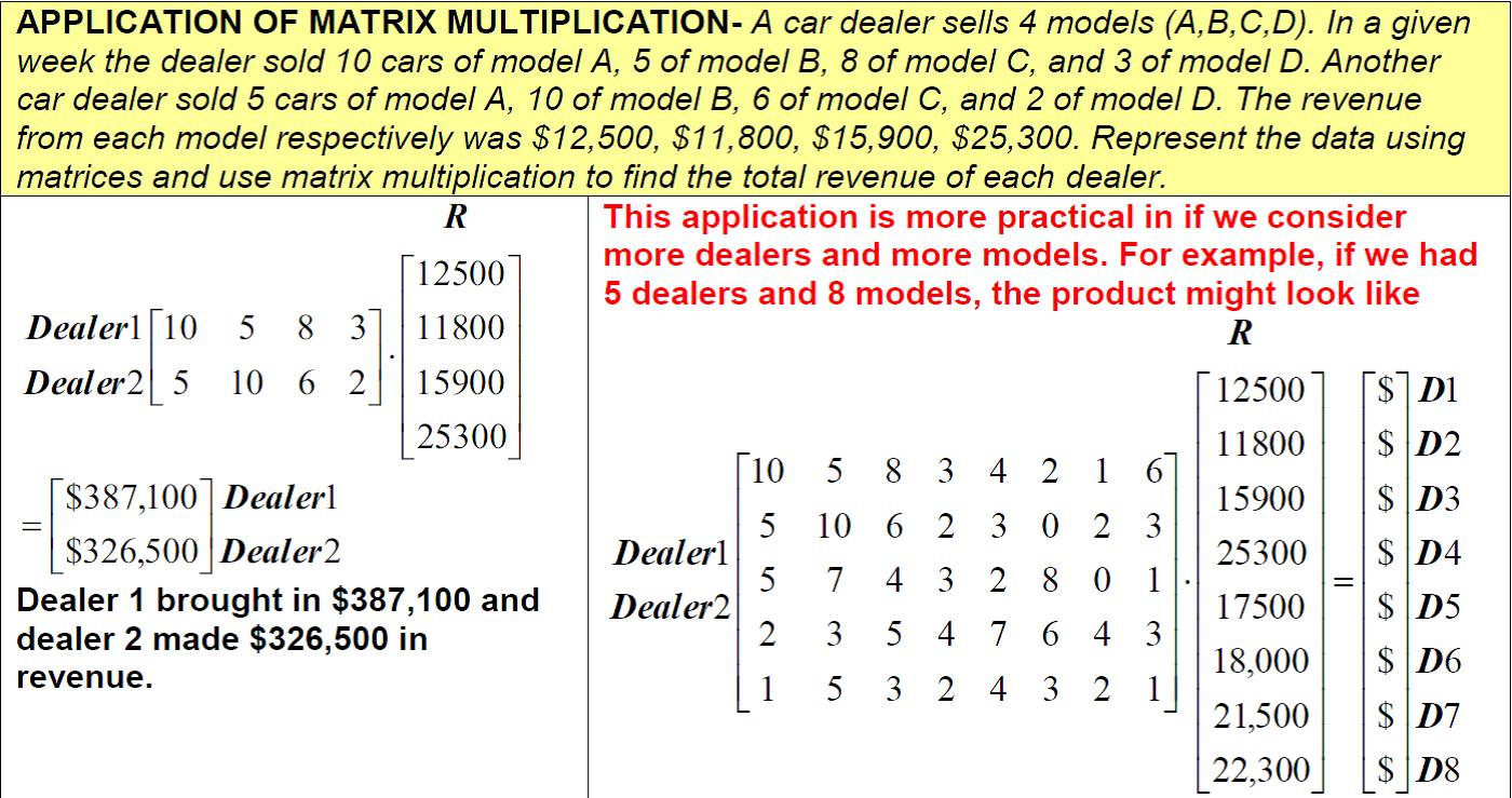 3 4 Practice – Matrix Operations | Finite Math