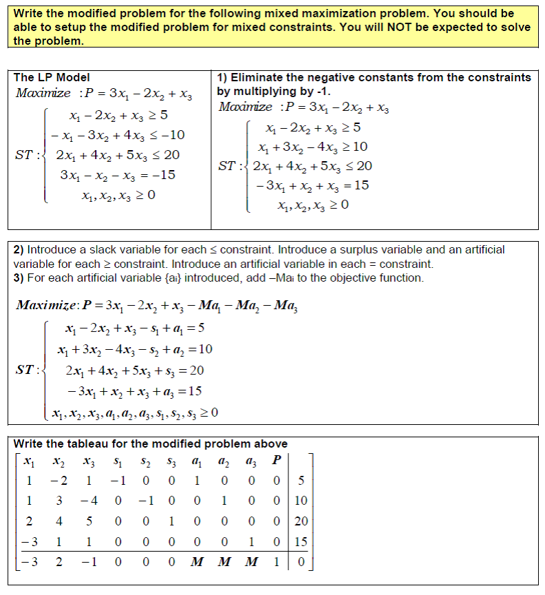3 5 Mixed Constraint Examples | Finite Math