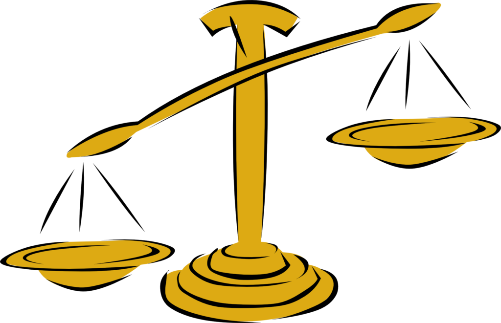 Image of an unbalanced scale.