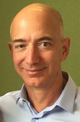 Photograph of Jeff Bezos