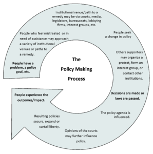 GOVT 2305 Student Resource Policy Making Diagram