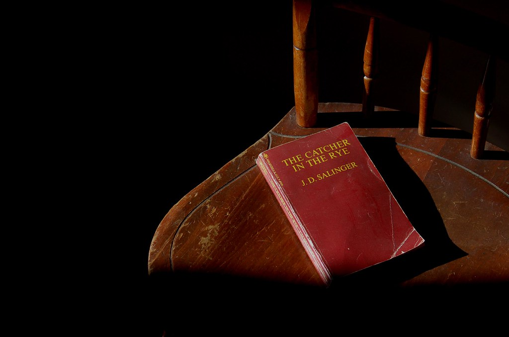 Book on a chair