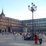 plaza, city square