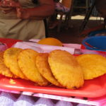 corn flour fritters
