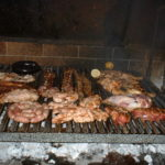barbecued meat