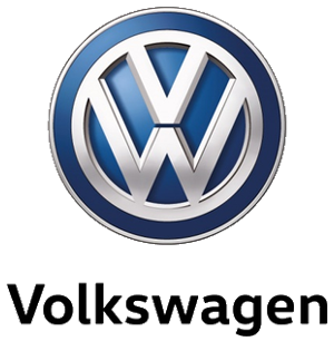 The Volkswagen logo, which is a V on a W within a circle.