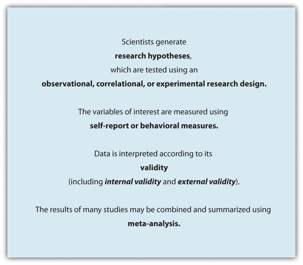 Scientific approach