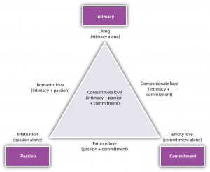 Figure 7.9 Triangular Model of Love