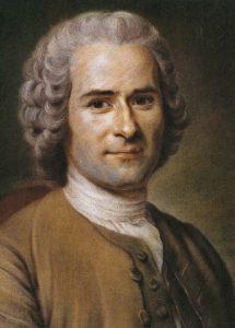 Portrait of Jean Jacques Rousseau