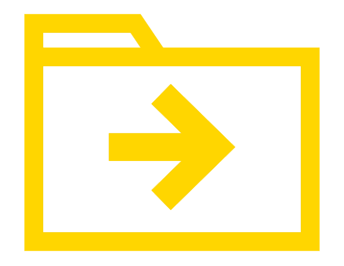 icon of a folder