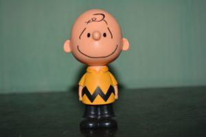 Charlie Brown figurine.