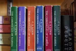 """The Chronicles of Narnia"" book series."