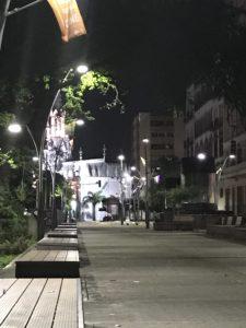Cali at night