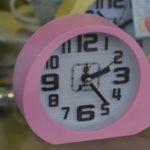 Clock showing 2:25