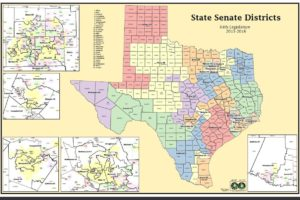 Qualifications And Organization Texas Government - Us-house-of-representatives-map-by-state