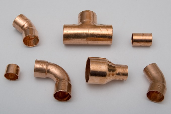Copper PipesCopper Is Heavily Used Due In Many Areas Including Piping