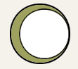 Image of a big green circle with a white circle inside of it, representing the removal of some search results.