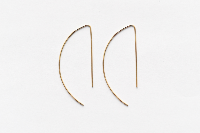 8.6.2 14K gold hook earrings EA-L-04