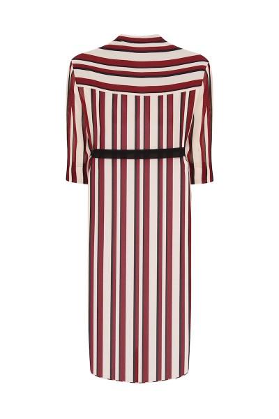 coverstorynyc elvi plus size stripe shirtdress