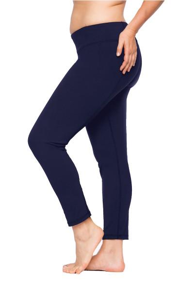 coverstorynyc lola getts plus size leggings navy