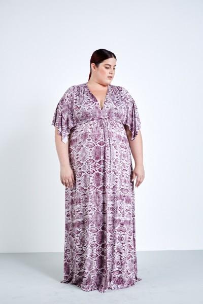 Rachel pally white label viper caftan maxi dress coverstory