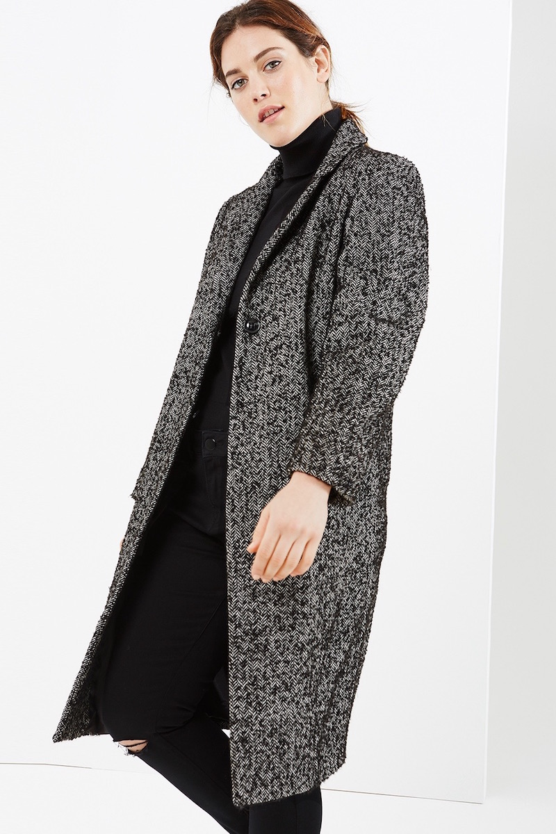Elvi Tweed Coat - Coverstory