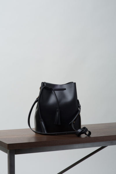 VereVerto Dita Bucket Bag Black