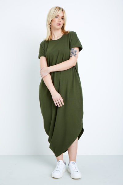 universal standard geneva dress camo plus size coverstoryNYC